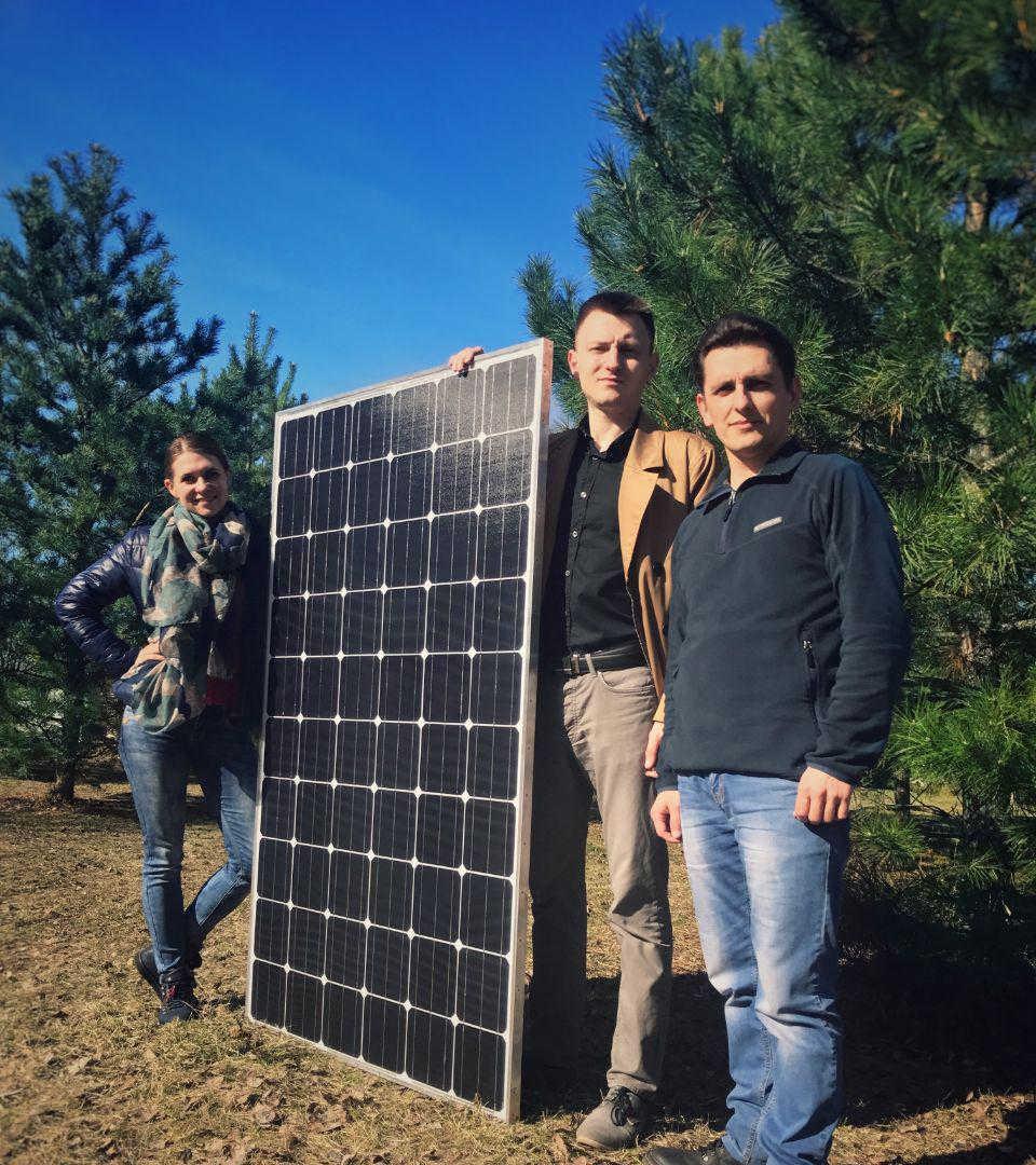 Солнечный модуль собственной разработки и производства