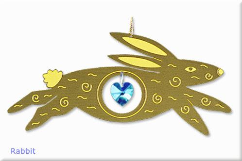 Rabbit - Brass