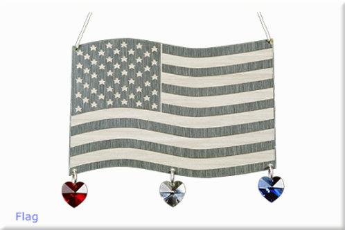 Flag - Silver