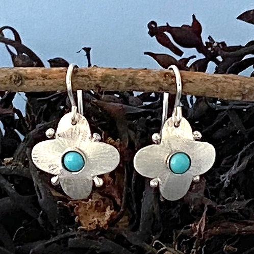 Flure Turquoise Earrings