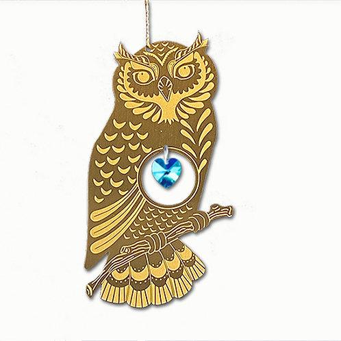 Owl - Brass