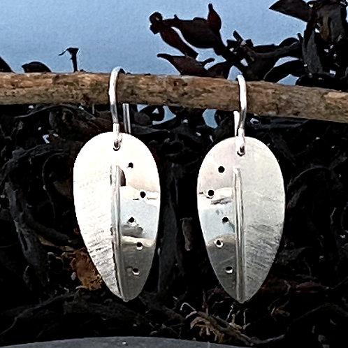 Kachina Leaf Earring