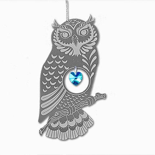 Owl - Silver