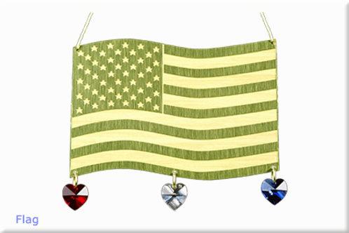 Flag - Brass