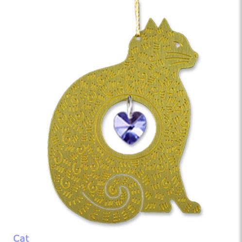 Cat - Brass
