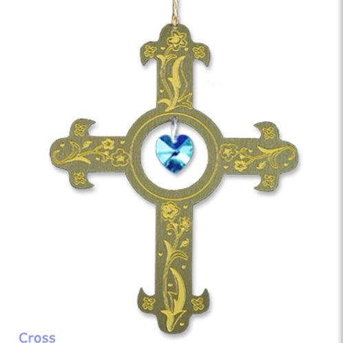 Cross - Brass