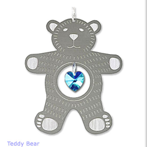 Teddy Bear -Silver