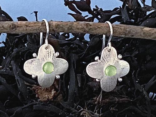 Flure Peridot Earrings