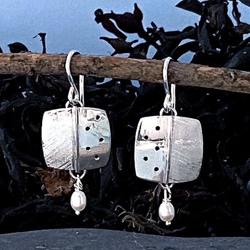 Kachina Square Earring