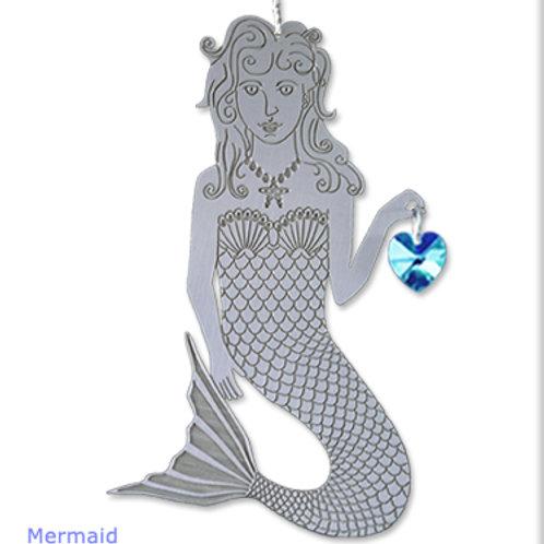 Mermaid - Silver
