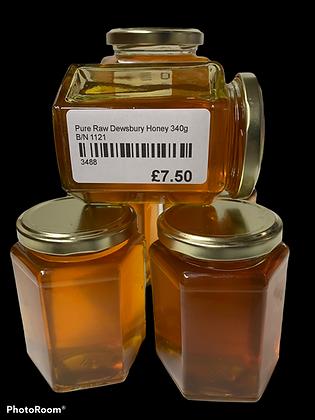 Pure Raw Dewsbury Honey 340g
