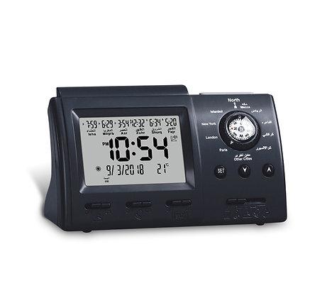 Al Harameen Table Azan Clock