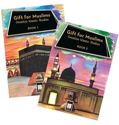 Gift for Muslims: Creative Islamic Studies - Set of 2 Books (PB -Kids Children)