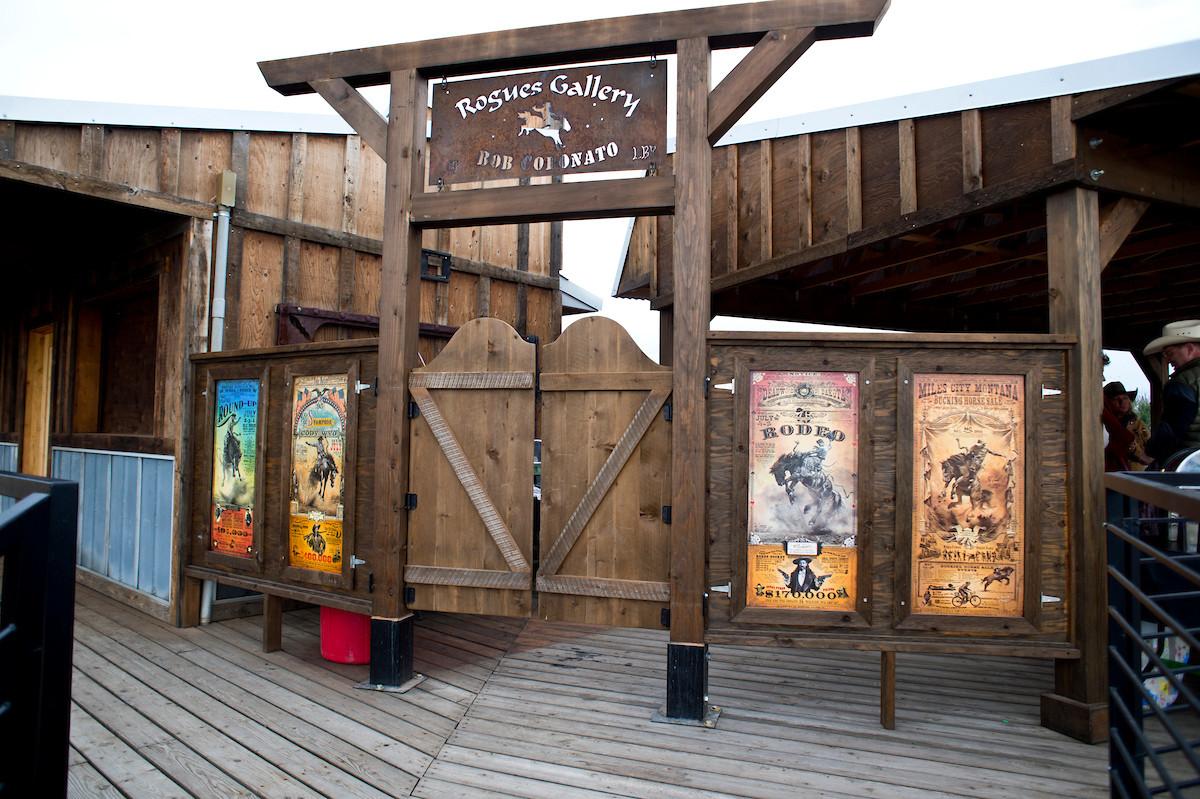 Party Deck Entrance