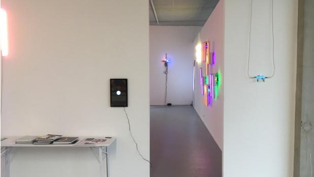 installation view Gallery Sofie Van de Velde