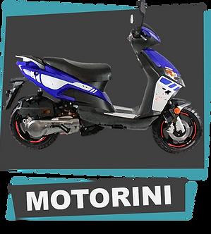 Motorini scooters