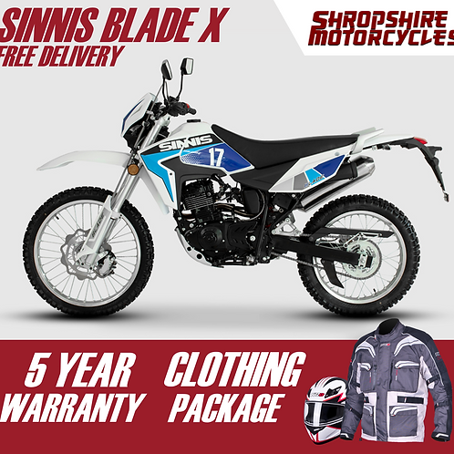 SINNIS BLADE X 125