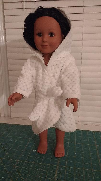"""Bathrobe for 18"""" Dolls"""