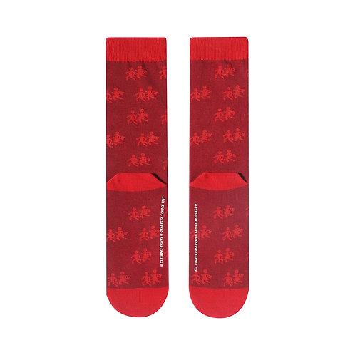 FF Socks: Go To School (Red)