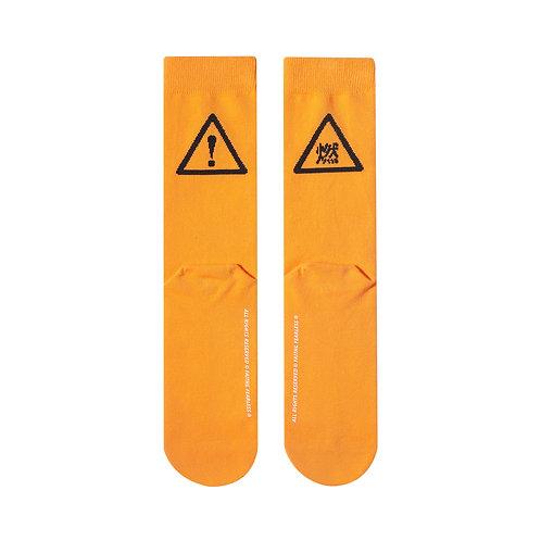 FF Socks: Danger (Orange)