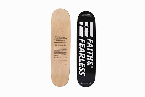 FF SKATEBOARD - BLACK