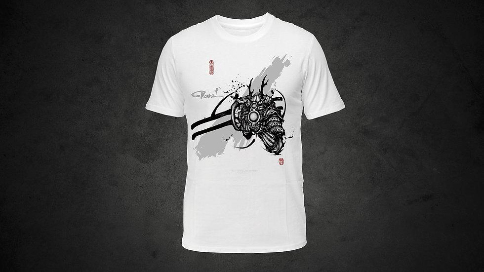 パラ武人画 Tシャツ「バイアスロン」