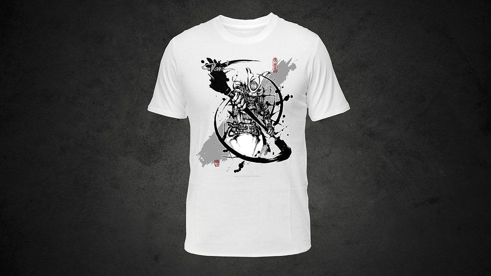 パラ武人画Tシャツ「カヌー」