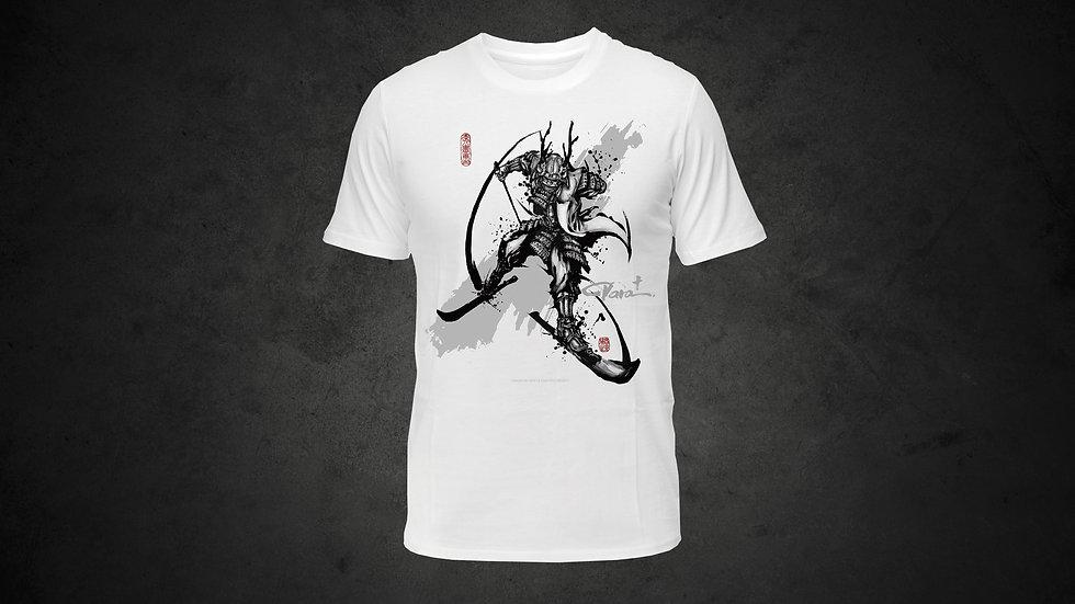 パラ武人画 Tシャツ「ノルディックスキー」