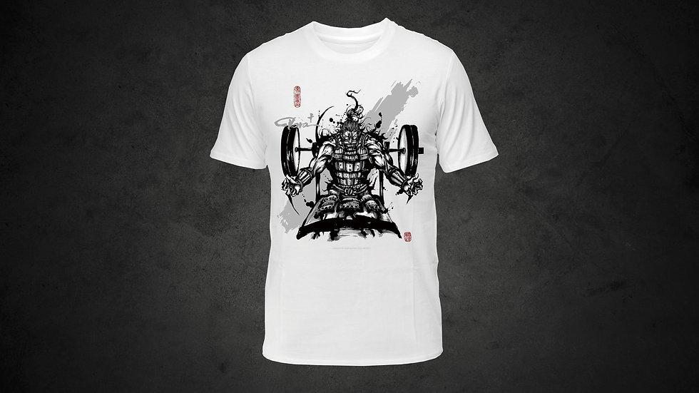 パラ武人画Tシャツ「パワーリフティング」