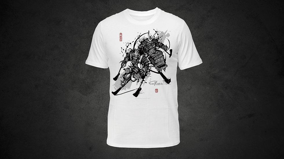 パラ武人画Tシャツ「アルペンスキー」