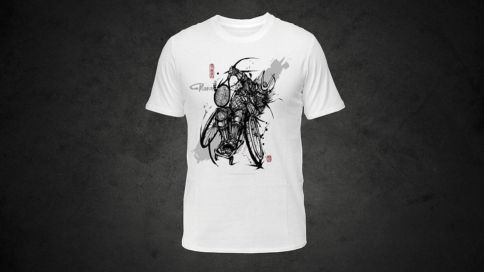 パラ武人画Tシャツ「車いすテニス」