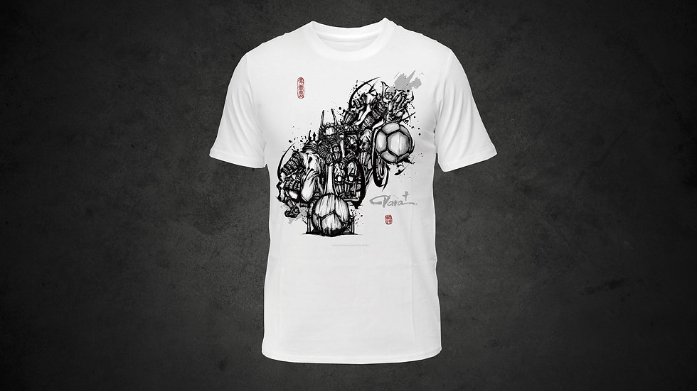 パラ武人画Tシャツ「ボッチャ」