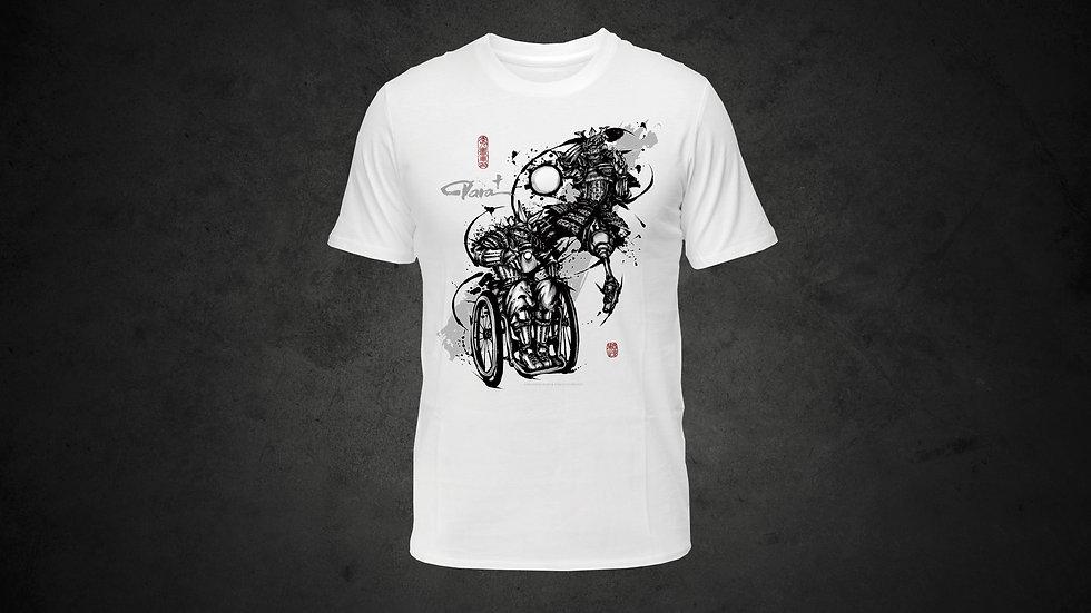 パラ武人画Tシャツ「卓球」
