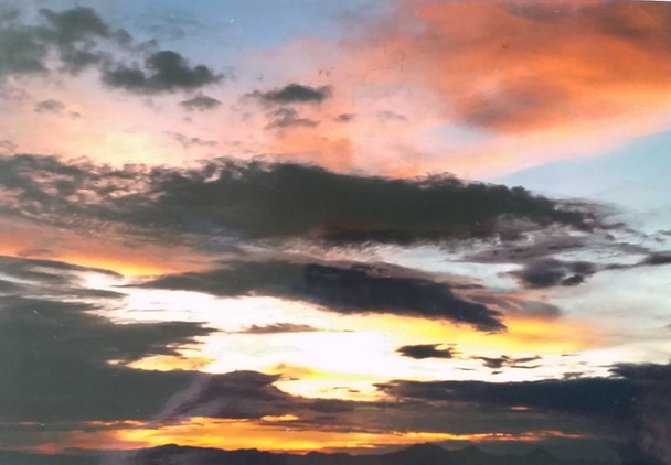 The Evening Sky - an ever changing canvas