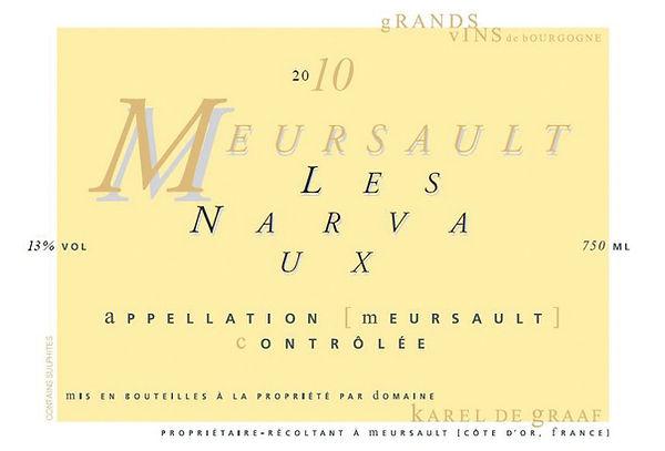 Etiket 2010 Meursault Les Narvaux