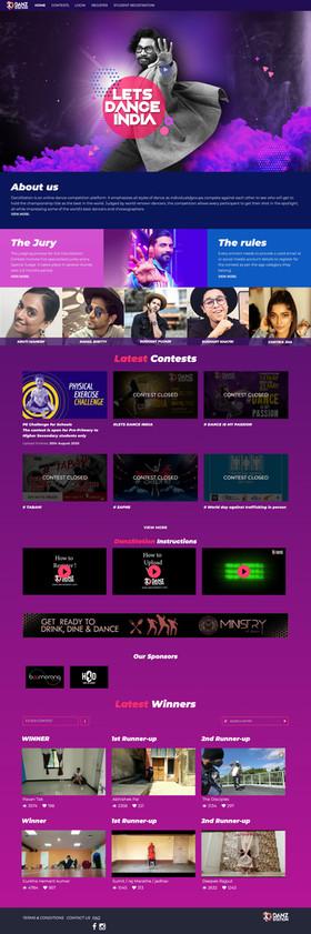 DanzStation Dance Competition Platform