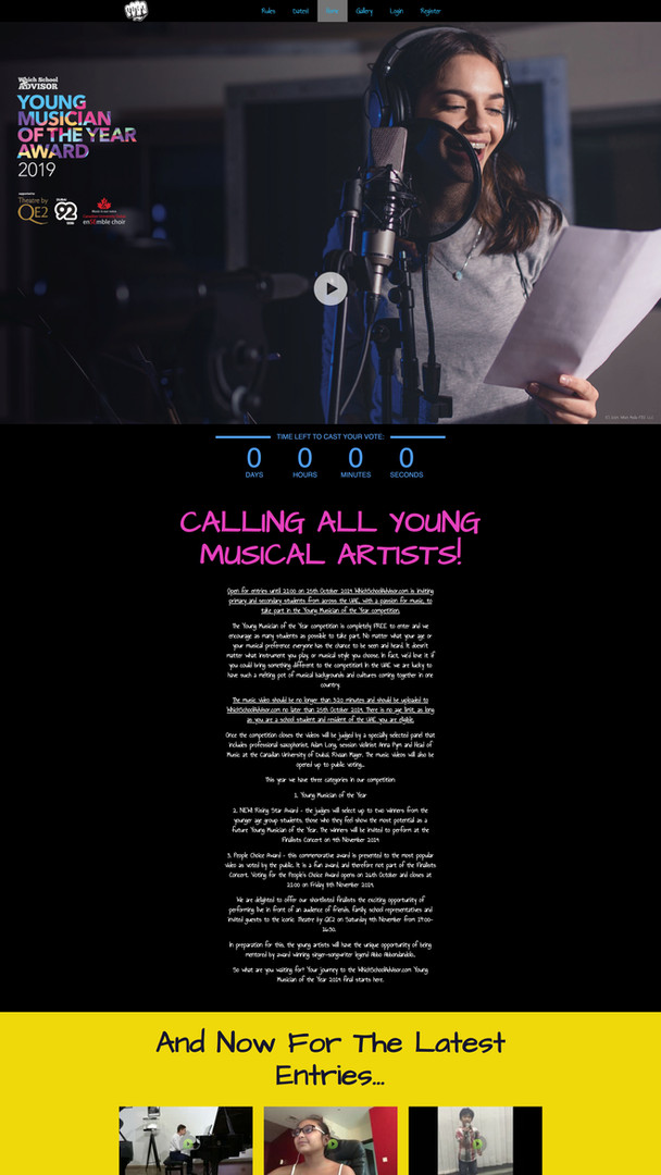 Young Musician of the Year Award