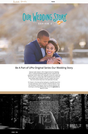 Sandals Wedding Competition