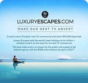 Luxury Escapes Make our next ad