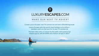 Luxury Escapes : Launchpad6 help us make our next TV ad