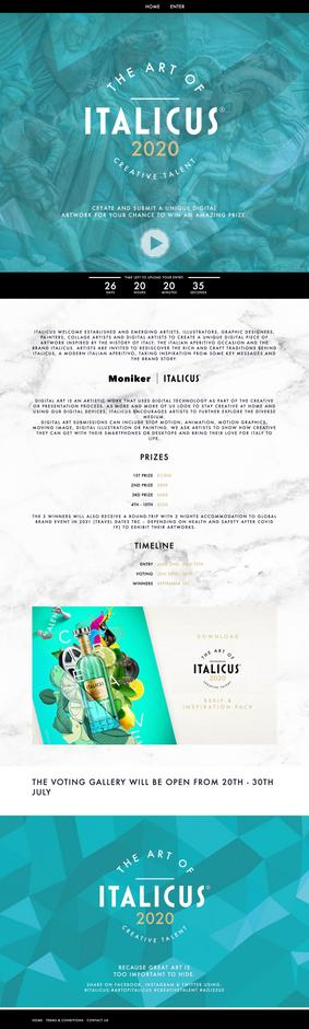 Italicus arts competition