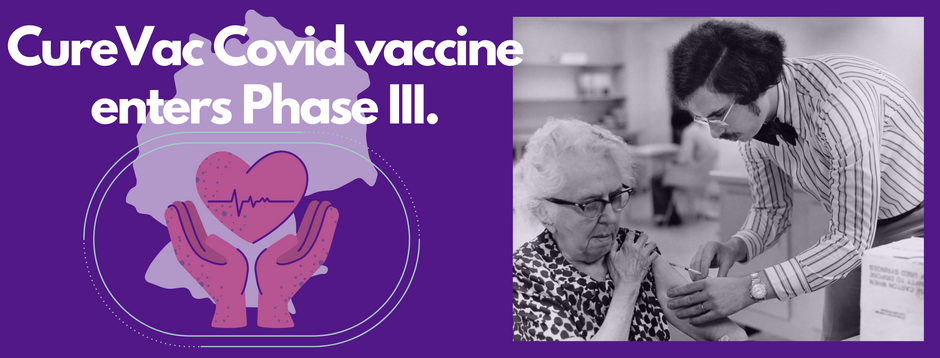 News: CureVac begins phase three Covid-19 vaccine trials