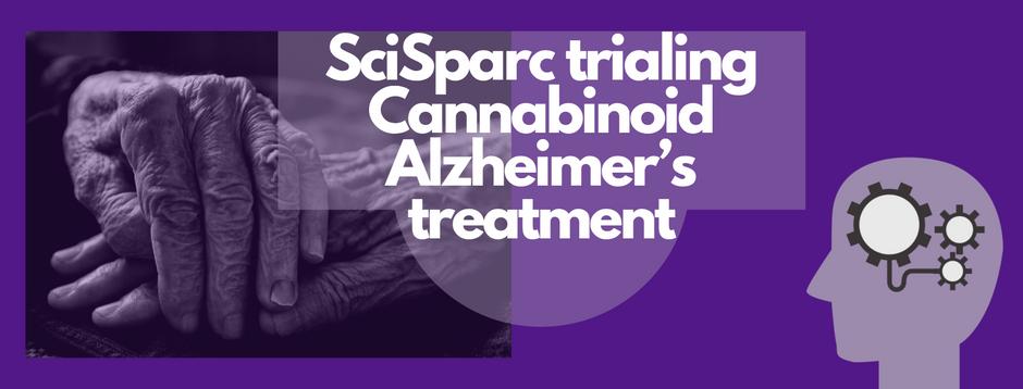 SciSparc trialing Cannabinoid Alzheimer's treatment