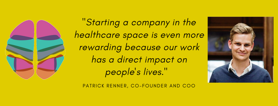 Meet Patrick Renner, Co-founder and COO