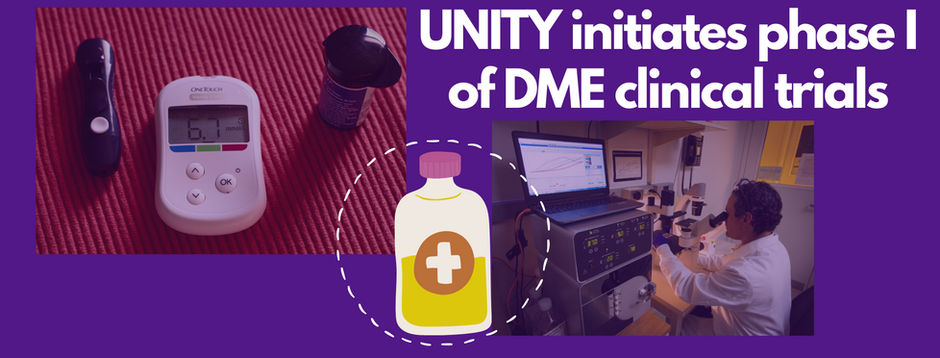News: UNITY begins phase I trials for DME treatment