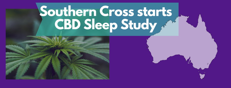 Southern Cross University starts CBD Sleep Study