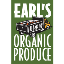 A picture of the Earls Organic Produce Logo.