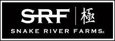 The logo for Snake River Farms.