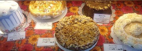 Sweetie Pies assorted pies.