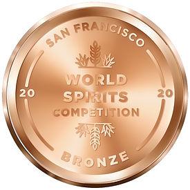 San Francisco 2020 World Spirit Competition, Bronze medal for Prohibition Pops.